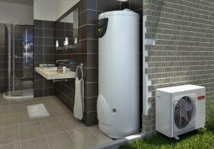 pemanas air heat pump tipe NUOS EVO SPLIT 300 - distributor ariston