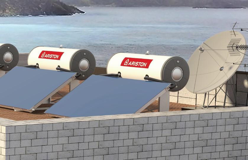 Pemanas Air Tenaga Surya - Distributor Ariston